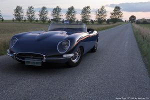 Jaguar E-Type 1961 Scene 3 by AnalyzerCro