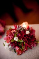 Bouquet and Candle by BahrcodePhotography