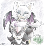 Shadow and Rouge by Faezza