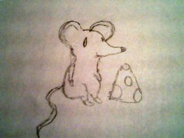 The Mouse And The Cheese by TheyCallMeDanger