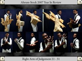 Right Arm of Judgement 07YIR 3 by Ahrum-Stock