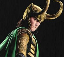 Loki, god of mischief by Wondercookies