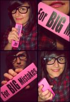 For Big Mistakes by charminou