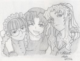 Lady Trio from Black Lagoon by LuftwaffeAce18
