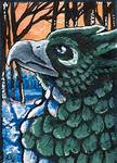 ACEO: The Winter Wake by Eleweth