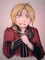 Edward Elric from FullMetal Alchemist by The-Fullmetal-Otaku