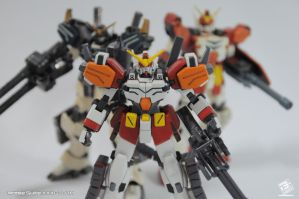 Gundam Heavy Arms versions by B-Werx