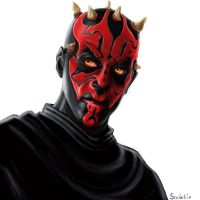Darth Maul by Scelatio
