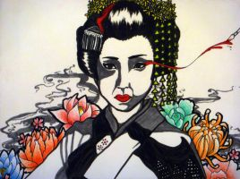 Geisha by Rorani