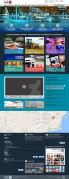 Alijarah Holding - Corporate Website by tariqsobh