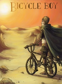 Bicycle Boy Cover by Jackarais