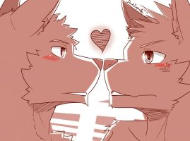 Now .. KISS! =3= by DarkImpulse05