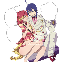 Shura and Mephisto by DreamingEssence