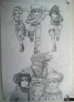 Team 7 poster by PRoachHeart-Sasuke