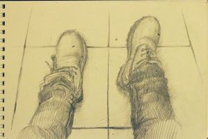 my shoes by TinaGrey