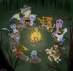 Campfire Frights - Contest Entry by Nestly