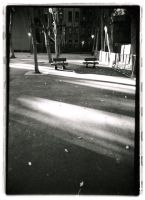 Park in Evening by Brittster