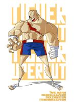 Street Fighter Tribute-Sagat by Itinen