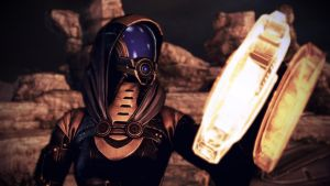 Tali'Zorah vas Normandy 10 by johntesh