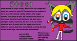 Steel character card by XxSteelAndFriendsxX
