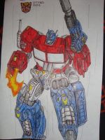 optimus prime G1 by MIROSLAV-BLASTER