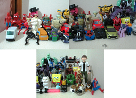 My Action Figure Collection (19/15/2014) by SuperMaster10