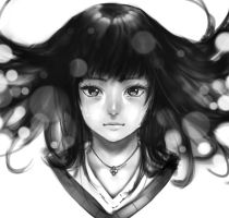Crying Girl by DigitalOme