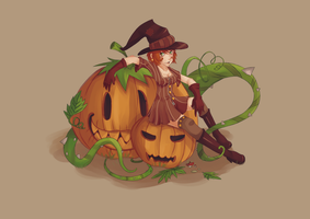 Happy Halloween by Steam-of-Lethis