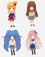 School Girl Adopts - OPEN by Monachi