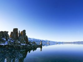 South Tufa, looking west by tanngrisnir3