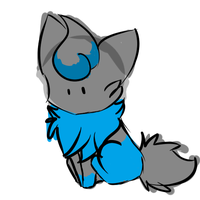 :CP: Soul the Zorua Doodle by flaries