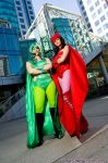 Daughters of Magneto by The-Cosplay-Scion