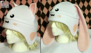 Sweet Kitty and Bunny Fleece Hats by MDHatters