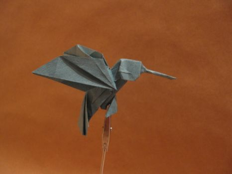 Origami hummingbird by orimin