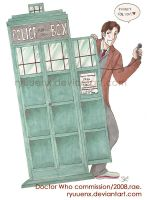Doctor Who commission. by ryuuenx