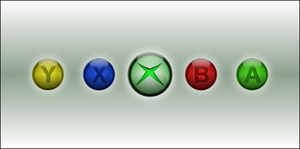 Xbox Buttons by NiTE-ANTiX