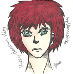 Christmas Gifts for friends - Gaara by PrennCooder