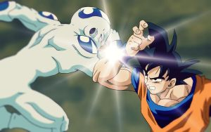 Frieza VS Goku by RuokDbz98