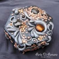 Black Jewelry Box by ArteDiAmore
