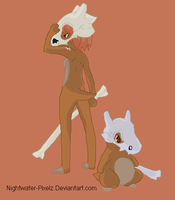 Cubone Girl by Dinalfos5