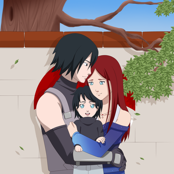 Commission: Uchiha Family by Misfitts