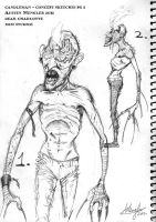 Candleman - Concept sketches pg 2 by LordNetsua