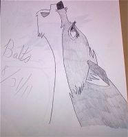 Balto Howling by BlackBlood100