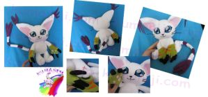TAILMON GATOMON PLUSH V1 by chocoloverx3