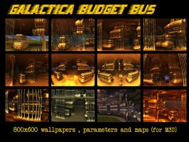 Galactica Budget Bus _parameter and maps by PhotoComix2