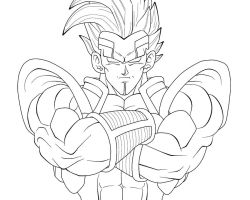 Baby-Vegeta Closeup WIP by carapau