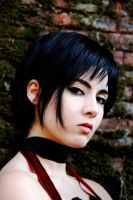 Ada Wong Portrait (Old Photo) by PrincessRiN0a