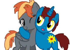 Metis and Thunder by ThunderStormin