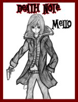 Mello Death Note by Mahadesu