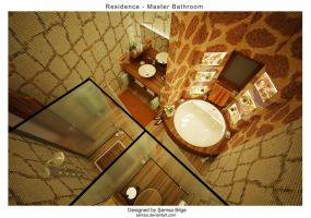 R2-Master Bathroom 3 by Semsa